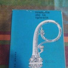 Libros: HISTORIA DE LA IGLESIA. Lote 277681518