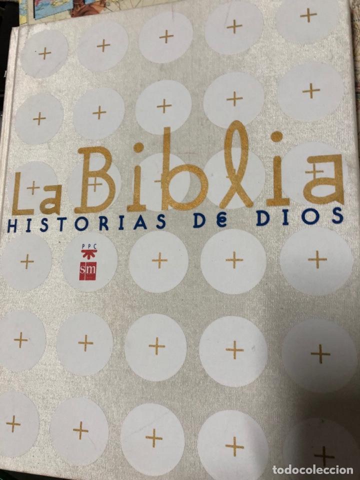 LA BIBLIA: HISTORIAS DE DIOS - ILUSTRADA / SM (Libros Nuevos - Humanidades - Religión)