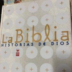 Libros: LA BIBLIA: HISTORIAS DE DIOS - ILUSTRADA / SM. Lote 285521053