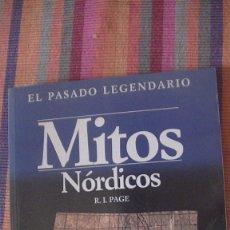 Libros: MITOS NÓRDICOS. PAGE, R. I. AKAL, 1992. Lote 292224668