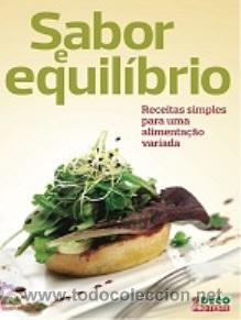 LIBRO SABOR Y EQUILIBRIO (Libros Nuevos - Ocio - Salud y Dietas)