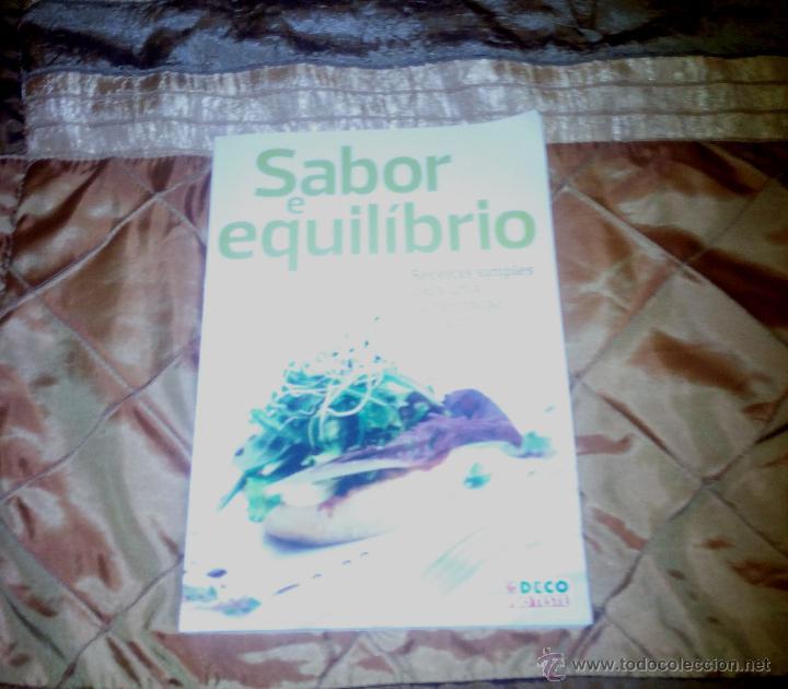Libros: Libro Sabor y equilibrio - Foto 2 - 52922665