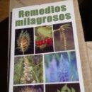 Libros: REMEDIOS MILAGROSOS. Lote 69021658