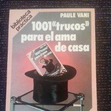 Libros: LIBRO DE COLECCIÓN TRUCOS AÑO 1979. Lote 87604432