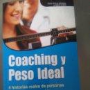Libros: COACHING Y PESO IDEAL. DRA JACI. Lote 99071451