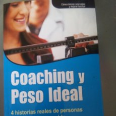 Libros: COACHING Y PESO IDEAL. Lote 99071451