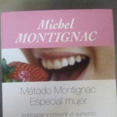 Libros: MÉTODO MONTIGNAC. Lote 99220215