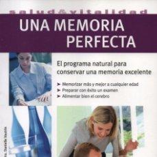 Libros: UNA MEMORIA PERFECTA - SALUD & VITALIDAD - EDITORIAL HISPANO EUROPEA (NUEVO). Lote 102051955