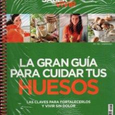 Libros: LA GRAN GUIA PARA CUIDAR TUS HUESOS - SABER VIVIR (PRECINTADO). Lote 105029155