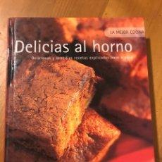 Libros: DELICIAS AL HORNO. Lote 106105371