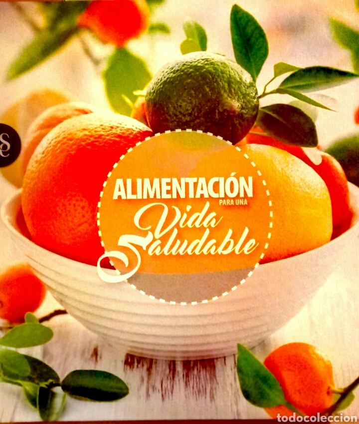 LIBRO ALIMENTACIÓN PARA UNA VIDA SALUDABLE (Libros Nuevos - Ocio - Salud y Dietas)