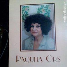 Libros: BELLEZA Y CALIDAD PAQUITA ORS. Lote 125841043