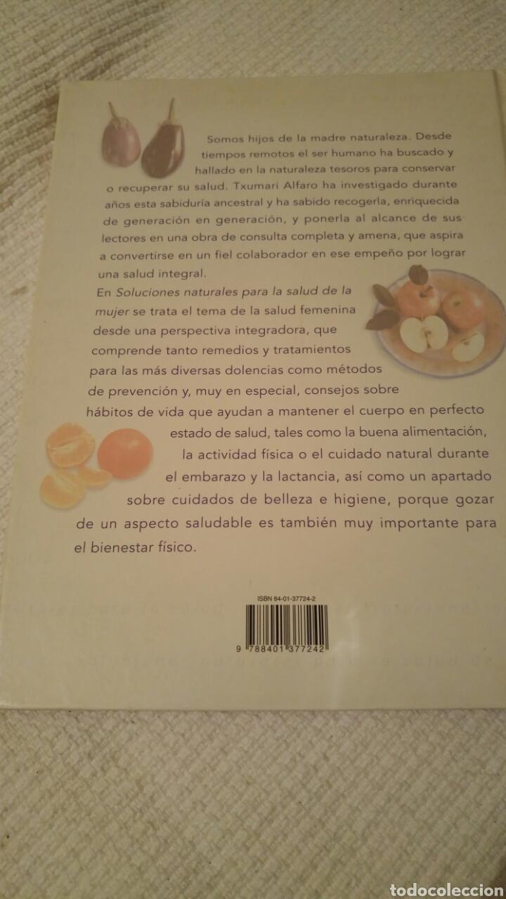 Libros: SOLUCIONES NATURALES PARA LA SALUD DE LA MUJER - Foto 5 - 118402034
