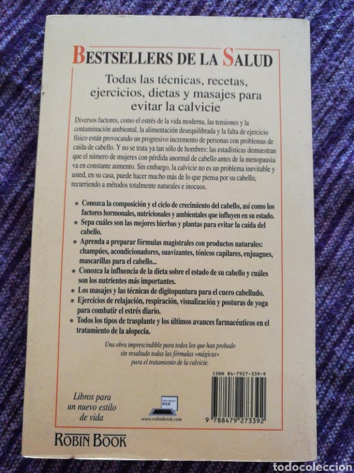 Libros: Soluciones naturales a la calvicie. David Martin - Foto 2 - 131607735