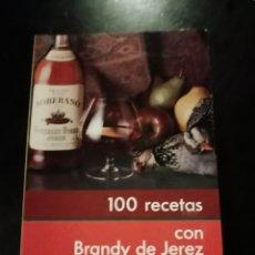 Libros: LIBRO RECETAS COCINA BRANDY SOBERANO JEREZ. Lote 140451021