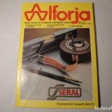 Libros: REVISTA ALFORJA. Nº 35, 30 SEPTIEMBRE 1981. NUEVA.. Lote 140532614