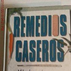 Libros: REMEDIOS CASEROS. Lote 141827278