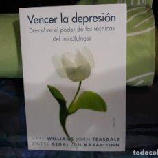 Libros: VENCER LA DEPRESION. Lote 146894098