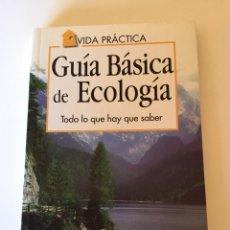 Libros: GUIA BÁSICA DE ECOLOGÍA. Lote 161553832