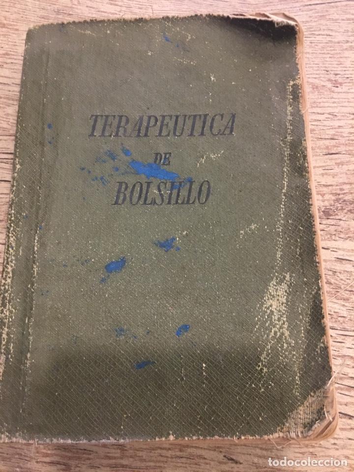 TERAPÉUTICA DE BOLSILLO. EDITORIAL - MIGUEL SERVET 1941 (Libros Nuevos - Ocio - Salud y Dietas)