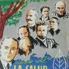 Libros: LA SALUD POR LA NATURALEZA - RAFAEL LEZAETA /PEREZ COTAPOS - ED.PAX MEXICO - AÑO 1990. Lote 141803946