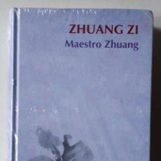 Libros: LIBRO ZHUANG ZI. Lote 169762825