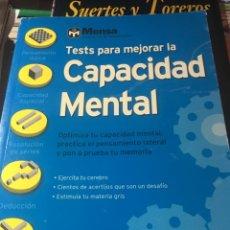 Libros: LIBRO TESTS PARA MEJORAR LA CAPACIDAD MENTAL. Lote 169791806