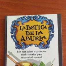 Libros: LIBRO LA BOTICA DE LA ABUELA. CÍRCULO DE LECTORES. Lote 169892914