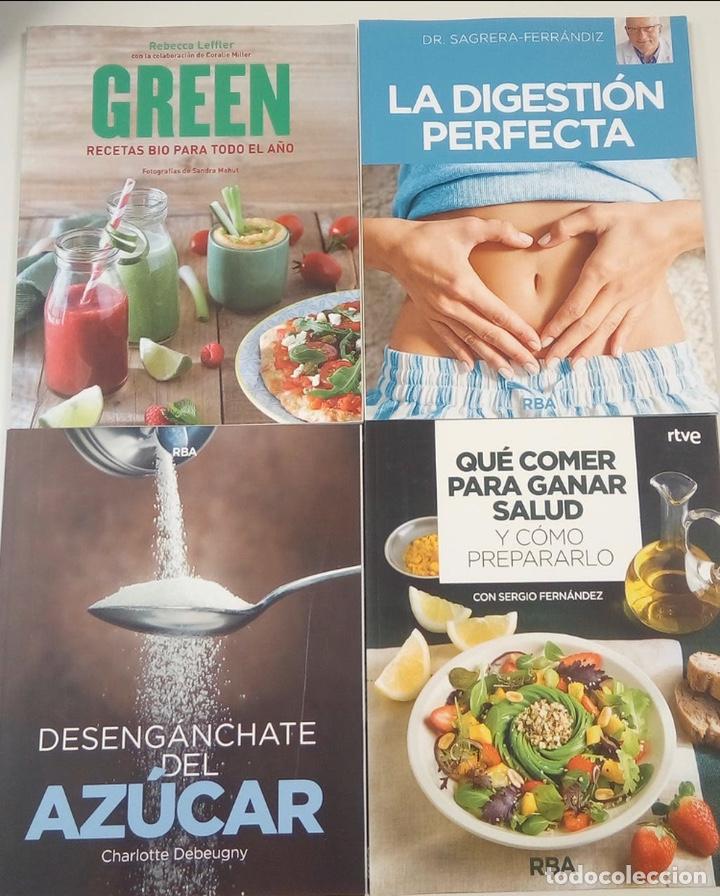 LOTE LIBROS SALUDABLES -NUEVOS (Libros Nuevos - Ocio - Salud y Dietas)