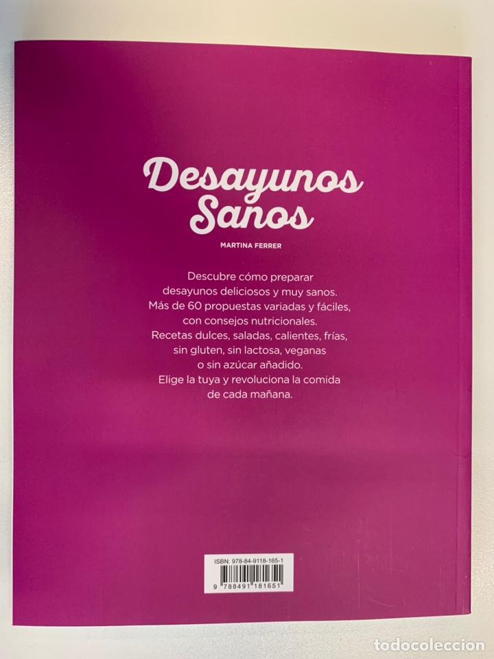 Libros: Libro DESAYUNOS SANOS - NUEVO - Foto 3 - 192319941