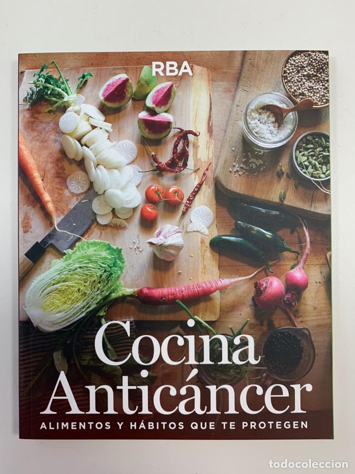 COCINA ANTI CÁNCER - LIBRO NUEVO (Libros Nuevos - Ocio - Salud y Dietas)
