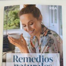 Libros: LIBRO REMEDIOS NATURALES NUEVO. Lote 195191922