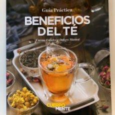 Libros: BENEFICIOS DEL TÉ - NUEVO. Lote 196598996