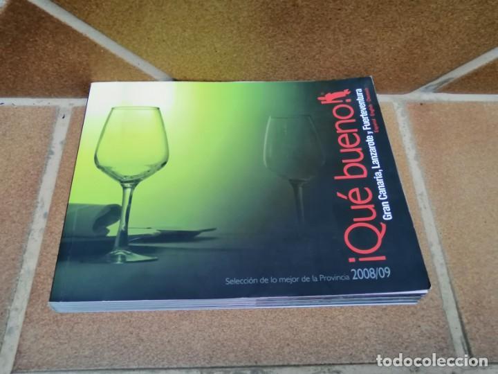 Libros: LIBRO GUIA DE RESTAURACIÓN ¡ Que bueno ¡ -Gran Canaria, Lanzarote y Fuerteventura 2008/2009 - Foto 2 - 205746106