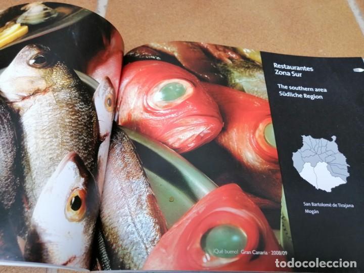 Libros: LIBRO GUIA DE RESTAURACIÓN ¡ Que bueno ¡ -Gran Canaria, Lanzarote y Fuerteventura 2008/2009 - Foto 3 - 205746106