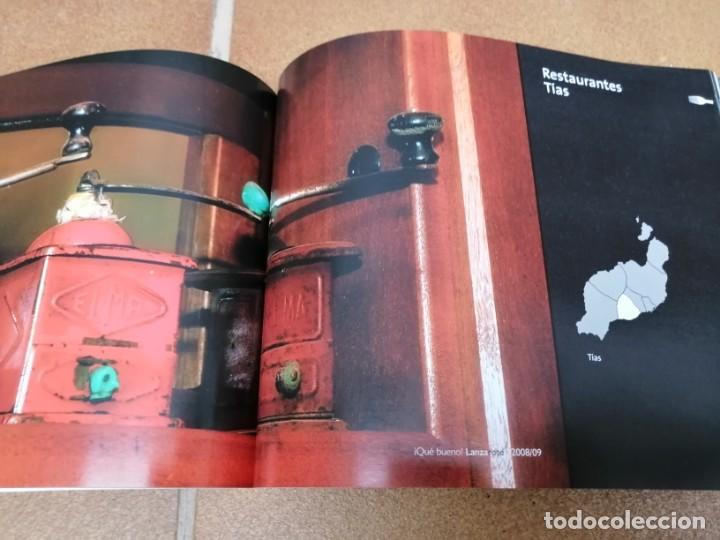 Libros: LIBRO GUIA DE RESTAURACIÓN ¡ Que bueno ¡ -Gran Canaria, Lanzarote y Fuerteventura 2008/2009 - Foto 4 - 205746106