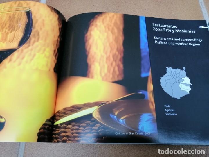 Libros: LIBRO GUIA DE RESTAURACIÓN ¡ Que bueno ¡ -Gran Canaria, Lanzarote y Fuerteventura 2008/2009 - Foto 7 - 205746106