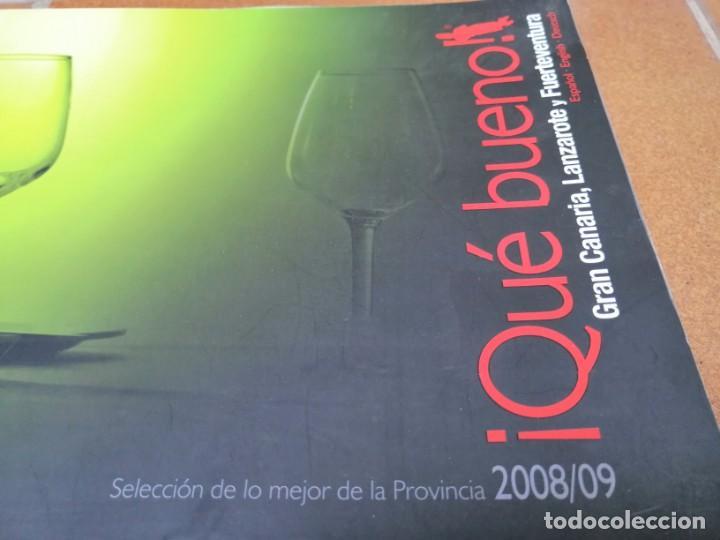 Libros: LIBRO GUIA DE RESTAURACIÓN ¡ Que bueno ¡ -Gran Canaria, Lanzarote y Fuerteventura 2008/2009 - Foto 8 - 205746106