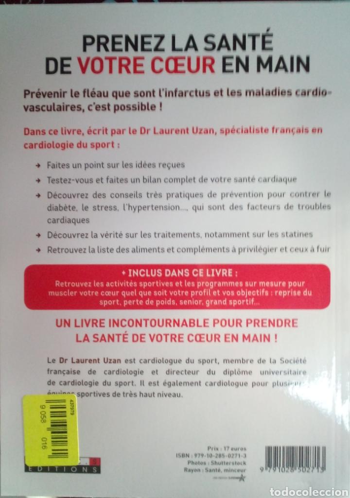 Libros: Libro Prenez la santé de votre coeur en main DR Laurent Uzan - Foto 2 - 205852543