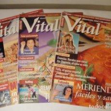 Libros: 3 REVISTAS: VITAL. NÚMEOS 14 MAYO 1999; 32 NOVIEMBRE 2000 Y 34 ENERO 2001. COMO NUEVAS.. Lote 207497097