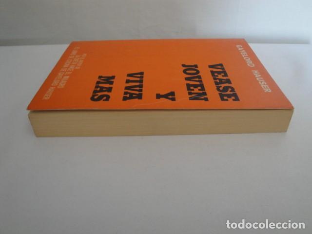 Libros: Véase joven y viva más. Autor: Gayelord Hauser. 17ª edición Abril 1970. Como nuevo. - Foto 9 - 208042957