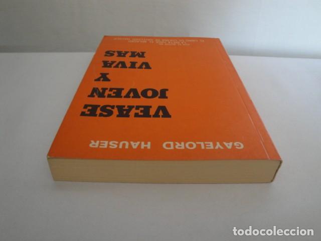 Libros: Véase joven y viva más. Autor: Gayelord Hauser. 17ª edición Abril 1970. Como nuevo. - Foto 10 - 208042957