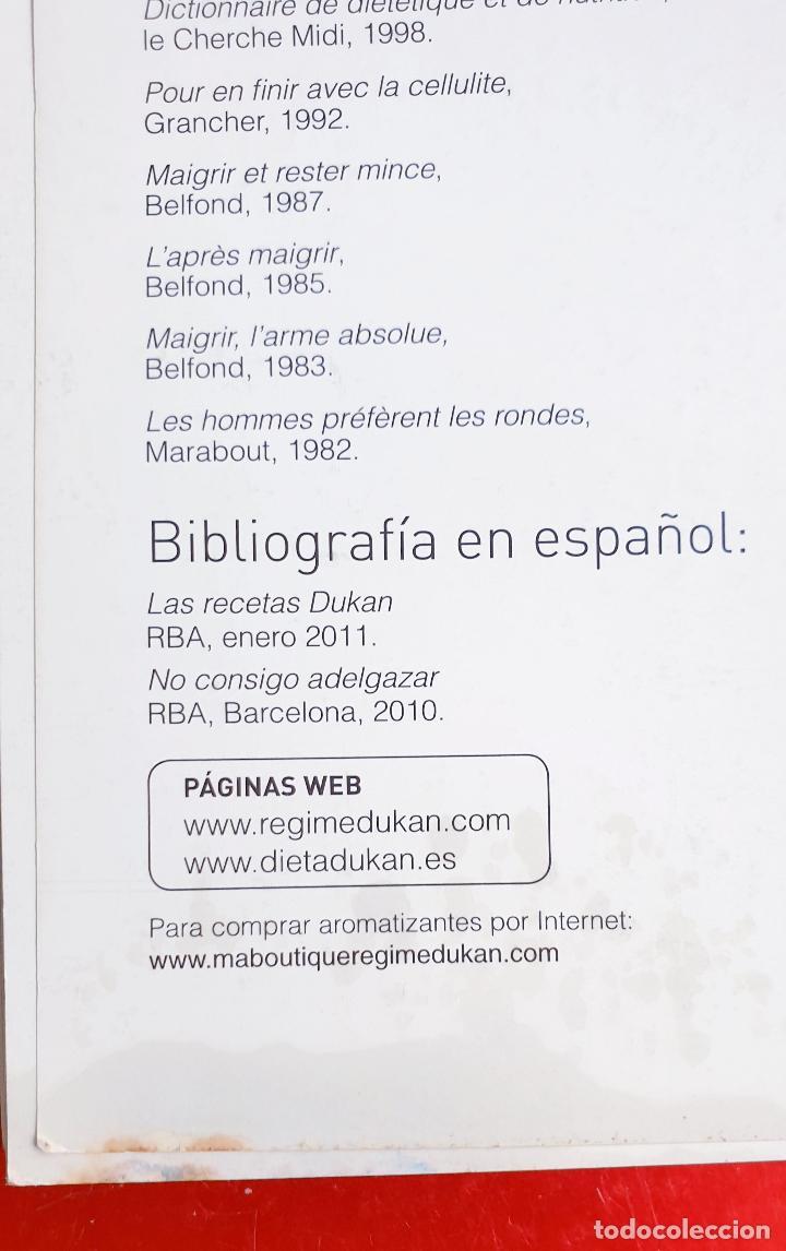 Libros: LIBRO-DIETA-EL METODO DUKAN-ILUSTRADO-PERFECTO ESTADO-VER FOTOS - Foto 7 - 212951233