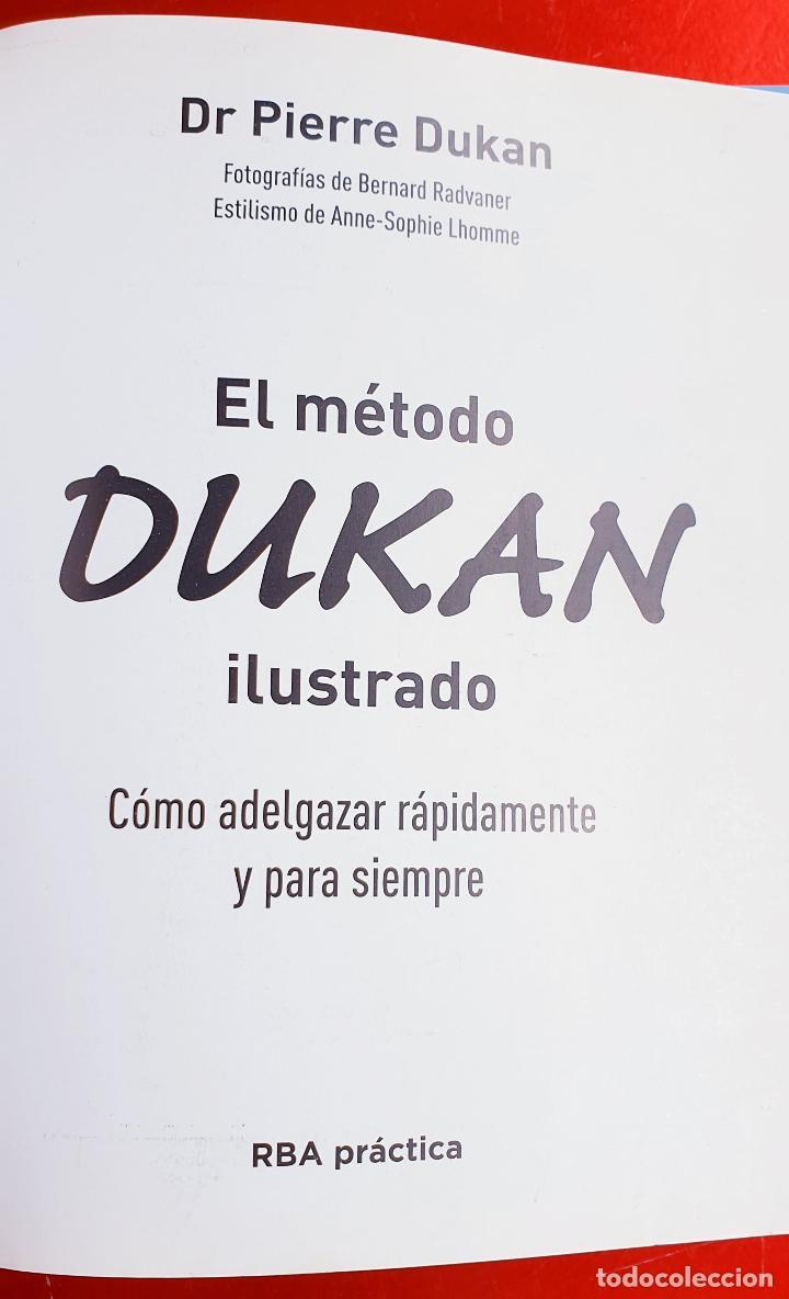 Libros: LIBRO-DIETA-EL METODO DUKAN-ILUSTRADO-PERFECTO ESTADO-VER FOTOS - Foto 2 - 212951233