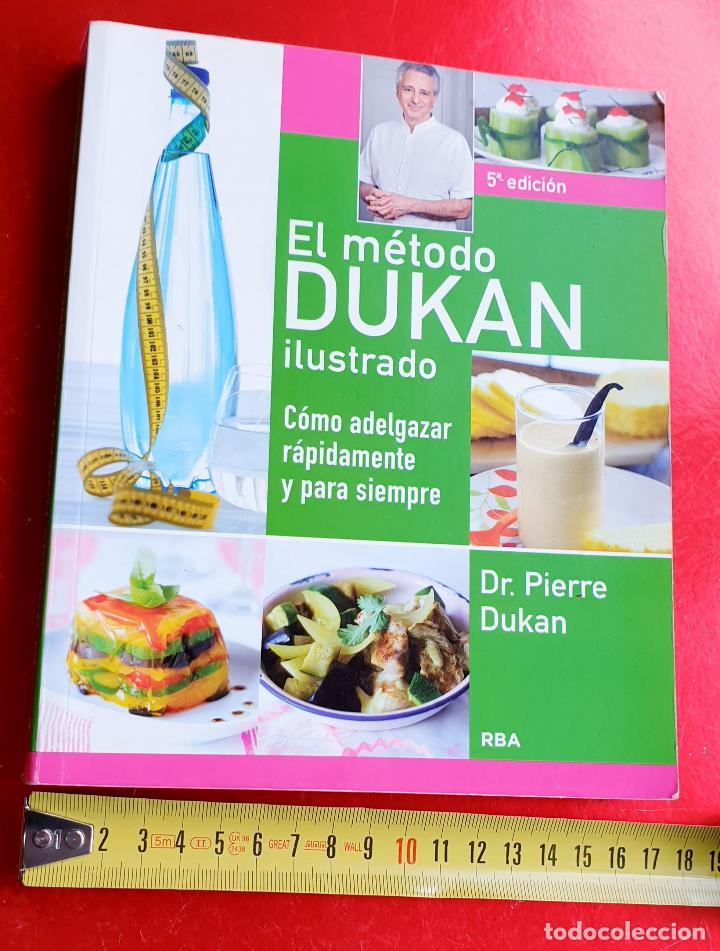 LIBRO-DIETA-EL METODO DUKAN-ILUSTRADO-PERFECTO ESTADO-VER FOTOS (Libros Nuevos - Ocio - Salud y Dietas)