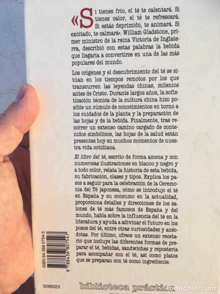 Libros: EL LIBRO DEL TÉ: Iñigo Dolagaray - Foto 2 - 214702885