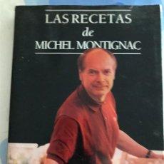 Libros: LAS RECETAS DE MICHELL MONTIGNAC.. Lote 217490941