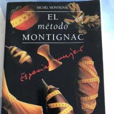 Libros: EL MÉTODO MONTIGNAC. ESPACIAL MUJER. Lote 217492280