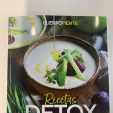 Libros: RECETAS DETOX - TRUCOS PARA DEPURAR EL CUERPO - NUEVO. Lote 219849106