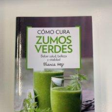 Libros: LIBRO SALUD CÓMO CURA ZUMOS VERDES - NUEVO - RBA. Lote 221077323